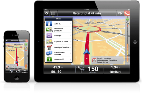TomTom iPhone iPad