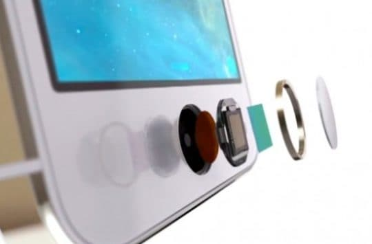 iPhone 5s Touch ID 550x378