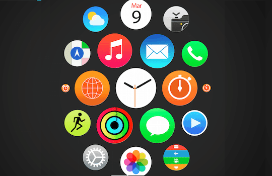 Installer organiser applications Apple Watch