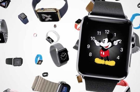 apple watch mosaique