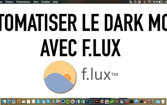 darkmode automatique flux