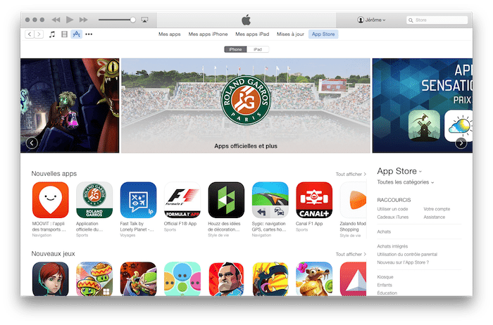 iTunes-interface-App-Store
