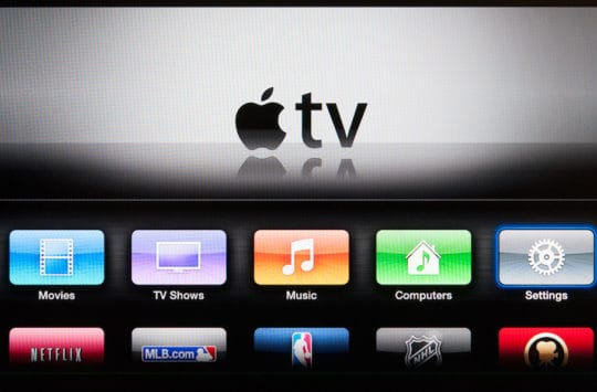 apple tv 2 interface