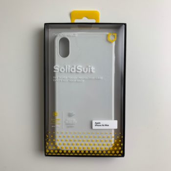 SolidSuit iPhone X Frenchmac packaging