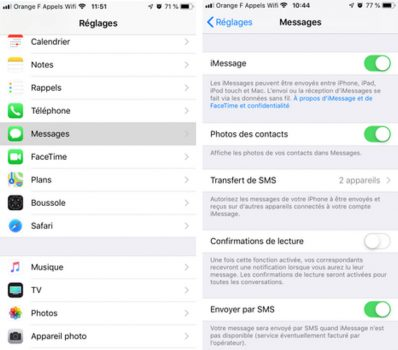 Activer iMessage sur iPhone : Comment configurer les identifiants iMessage et FaceTime ?