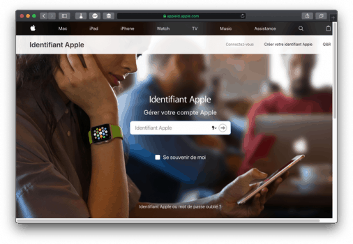 Se connecter au site Apple id : Comment configurer les identifiants iMessage et FaceTime ?
