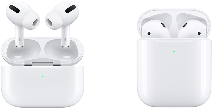 airpods boitiers