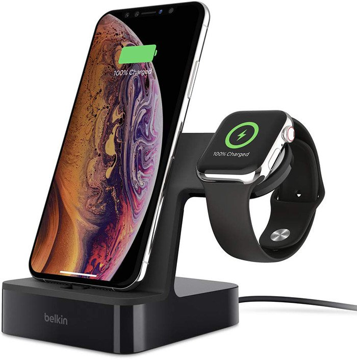 belkin station recharge iphone apple watch