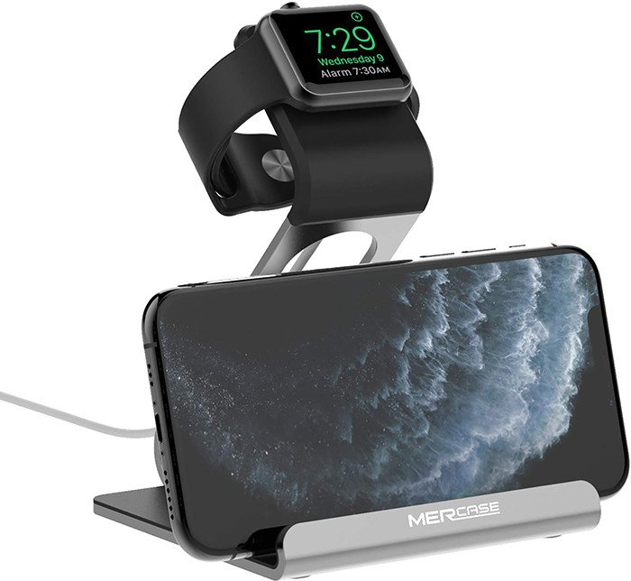 mercase station recharge iphone apple watch