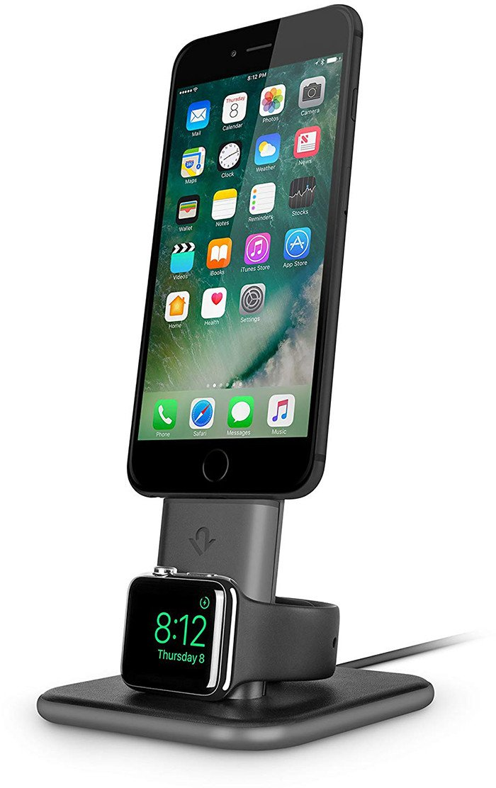 twelve south hirise duet station recharge iphone apple watch