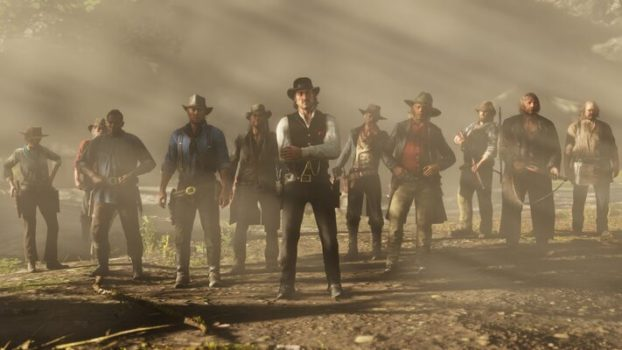 Red dead redemption jeu