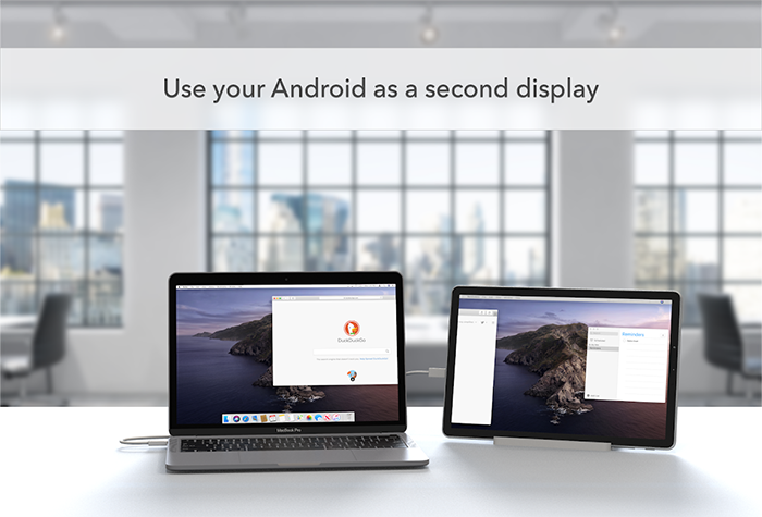 android mac duet display