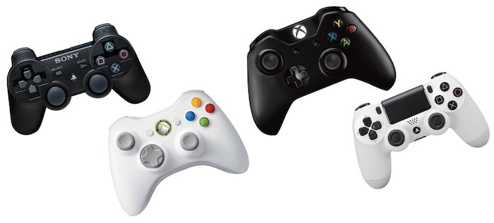 manettes ps ps xbox xboxone compatibles otg