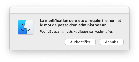 mac authentifier