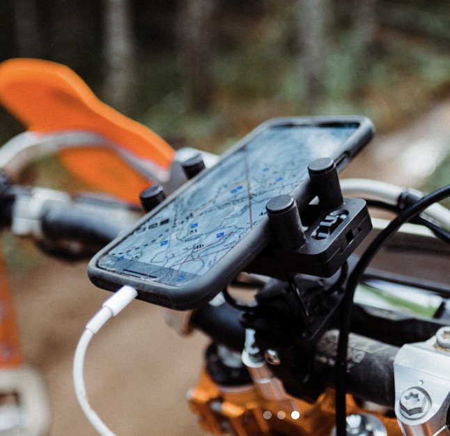 buzz kill iphone support moto protection stabilisateur