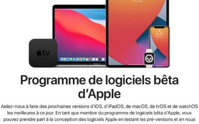 Comment installer une bêta publique d'Apple