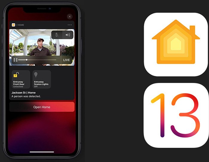 maison homekit secure video ios