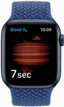 apple watch series oxygene sang