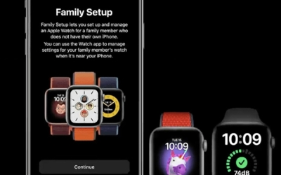 Comment gérer la Configuration familiale de l'Apple Watch ?