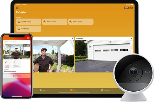 homekit secure video camera