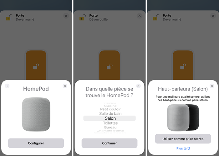 iphone configuration homepod stereo