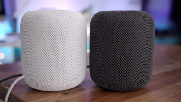 paire homepod stereo